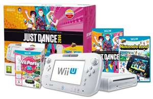 Nintendo Wii U Party Pack (2 Remotes - Wii Party, Nintendo Land, Just Dance) bei Amazon uk für ~ 235,63€ (Vergleichspreis: ~295€)