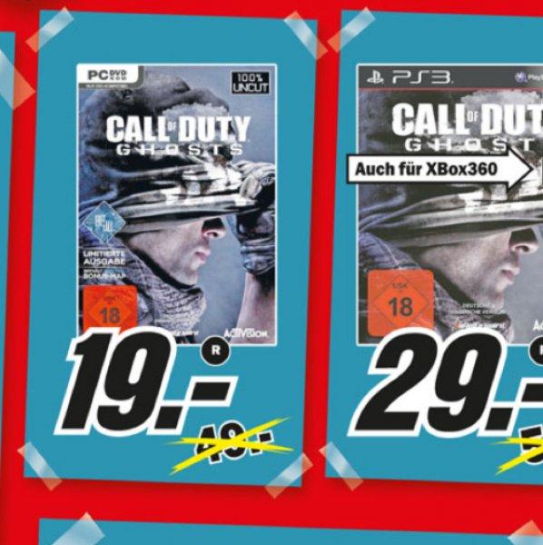 Call of Duty: Ghosts (PC) @MediaMarkt Wuppertal [Lokal?]