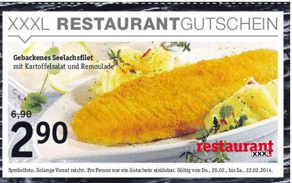 [Lokal] Regensburg Hiendl XXXL: Seelachsfilet mit Kartoffelsalat Euro 2,90 Topp-Preis