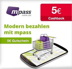 [qipu] mpass – 5€ Cashback + 5€ Startguthaben