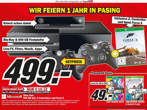 [Media Markt München] Xbox One + 2. Controller + Forza 5 für 499€