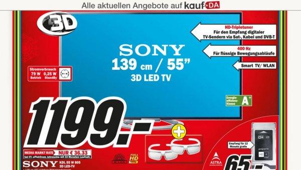 [Köln] SONY KDL55W805