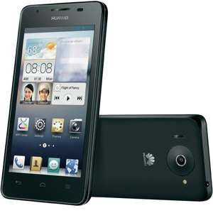 [B-Ware] Huawei Ascend G510, 4,5 Touchscreen, 1,2 GHz Dual-Core, Android™ 4.1, Schwarz + weiß
