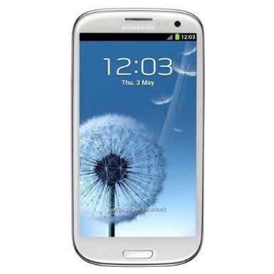 Samsung Galaxy III (16GB, UK Sim Free Unlocked) - Marble White Ohne LTE [WHD UK Zustand Good]