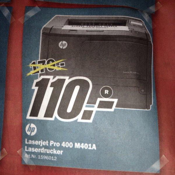 HP Laserjet Pro 400 M401A Media Markt Wuppertal [Lokal]