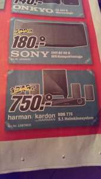 [Lokal Wuppertal] harman/kardon BDS 775 Heimkinosystem für 750€