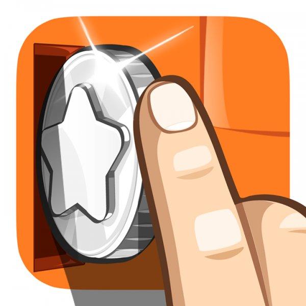 [iOS] Rolling Coins Rätselspiel gerade kostenlos für iPhone und iPad statt 0,89 €