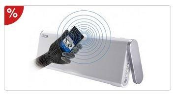Sony SRS-BTX300 Bluetooth-Lautsprecher mit Akku und NFC weiß für 99,99 €, Neukunden für 84,04 € @Schwab und Otto