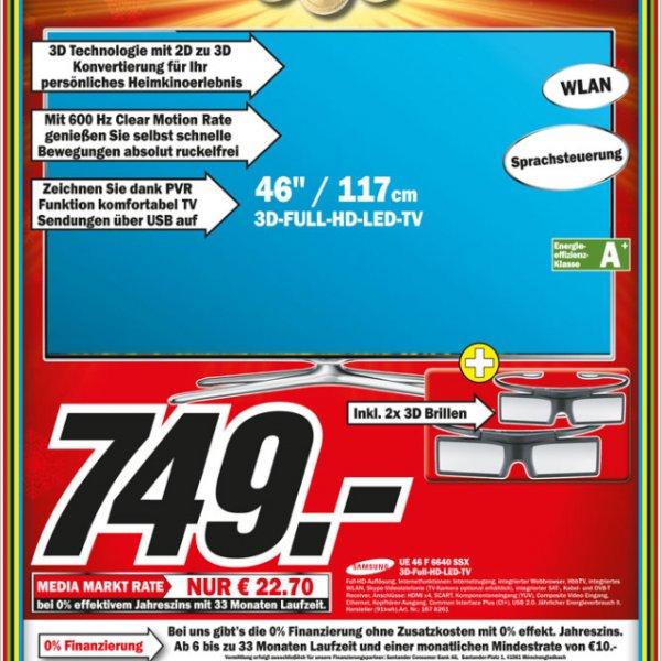 Media Markt Weiterstadt: Samsung 46 F 6640