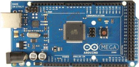 Arduino Mega 2560 Development Board + USB Kabel aus China für umgerechnet 11,86 Euro