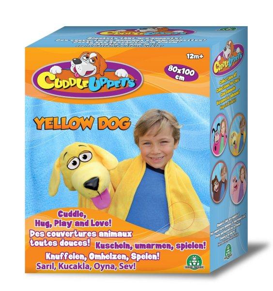 [Amazon WHD]  Giochi Preziosi 70856041 - Cuddleuppets Hund Kuscheldecke