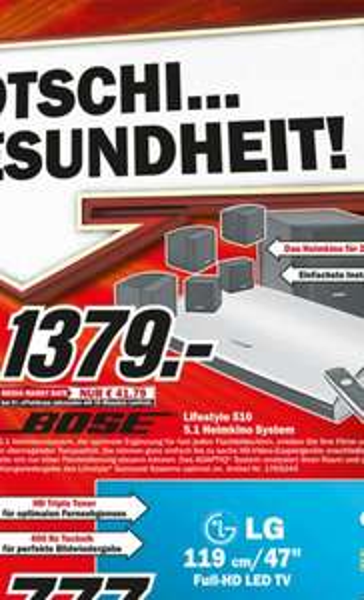 Bose Lifestyle 510 5.1 Heimkino-System > Lokal Kassel