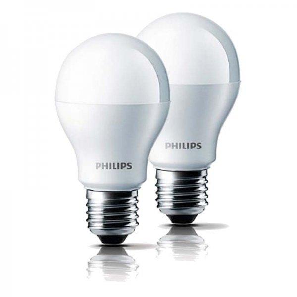 LED Glühlampe Philips A60 9,5W (60W Ersatz) 5,63€/St - bei Grünspar 12 St. für insg. 67,50€
