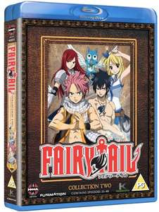 Fairy Tail - Collection Two UK Bluray Vorbestellung für rund 13,50€