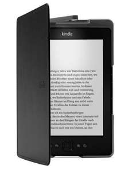 Amazon Kindle Lederhülle mit Leseleuchte für 24€ @Gravis