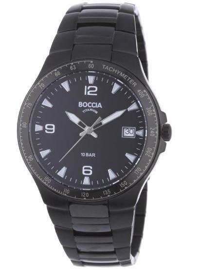 (Amazon WHD) Boccia Herren-Armbanduhr Titan Sport 3549-03 ab 42,10€ statt 92,65€! QUALITÄT, TITAN & WASSERDICHT!