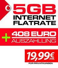 Vodafone Internet Flat, 5GB/Monat mit 408€ Auszahlung (48,24€ Gewinn für junge Leute)