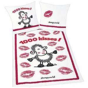 Bettwäsche Sheepworld 1000 kisses Herding 2Tlg. Set