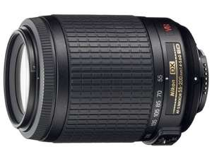Nikkor 55-200mm 1:4-5,6 G IF-ED VR Objektiv  - 110 € @Amazon