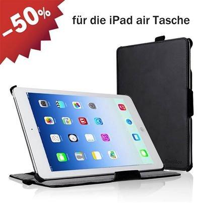 [Amazon] Mit Gutscheincode 50% Rabatt auf EasyAcc Apple iPad Air Hülle mit Standfunktion