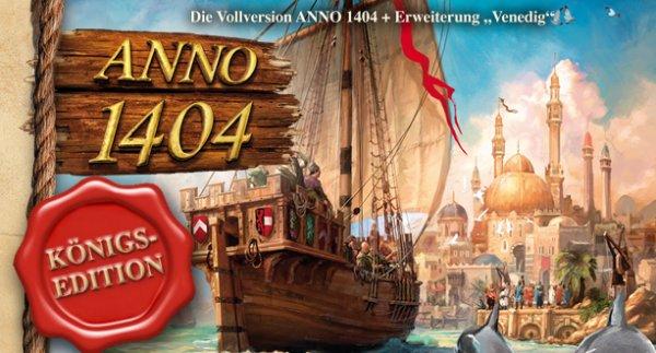 """Anno 1404 Königsedition inkl. Erweiterung """"Venedig"""" @uplay shop"""