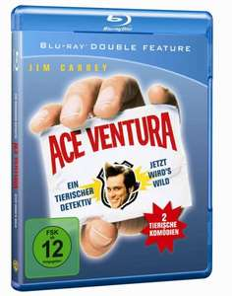 [amazon.de] Ace Ventura 1&2 [Blu-ray] für 9,97 € (Prime oder Hermes)
