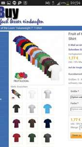 "Fruit of the Loom ""Valueweight T"" T-Shirt"