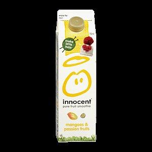 [Rewe] Innocent Smoothie 750 ml/900 g, verschiede Sorten für 1,99