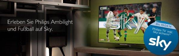 Philips TV kaufen und Sky Welt (+Sky Go) 1 Jahr gratis nutzen (ohne Folgeabo)
