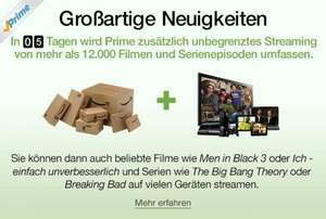 Amazon Prime Instant Video ab 26.02. in Deutschland