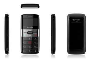 "simvalley MOBILE Komfort-Mobiltelefon ""Easy-5 PLUS"" silber"