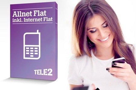 Groupon Tele2 - ALLNET Flat + 500 MB für effektiv 8,82 € / Monat für Jedermann