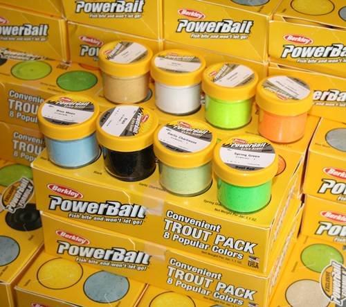 (Für Angler) Berkley Trout Bait Power Bait Glitter - 8er Set  9,99€ (MBW 25€)
