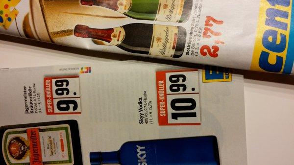 Rotkäppchen Sekt 2,77€ &  Sky Wodka 10,99 @ Edeka