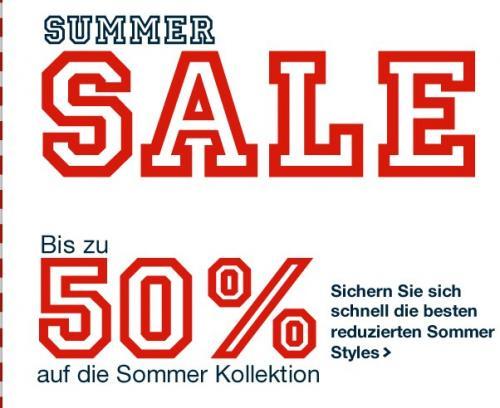 Tom Tailor Summer Sale (bis 50%) und 7% Cashback über qipu