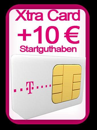 Xtra Card Prepaid inkl. 10€ Startguthaben für 1€ @Ebay