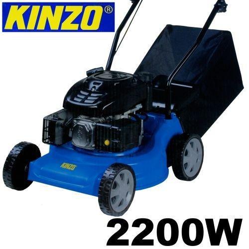 Kinzo Benzin Rasenmäher ca. 3PS / 40cm Schnittbreite 3fach höhenverstellbar
