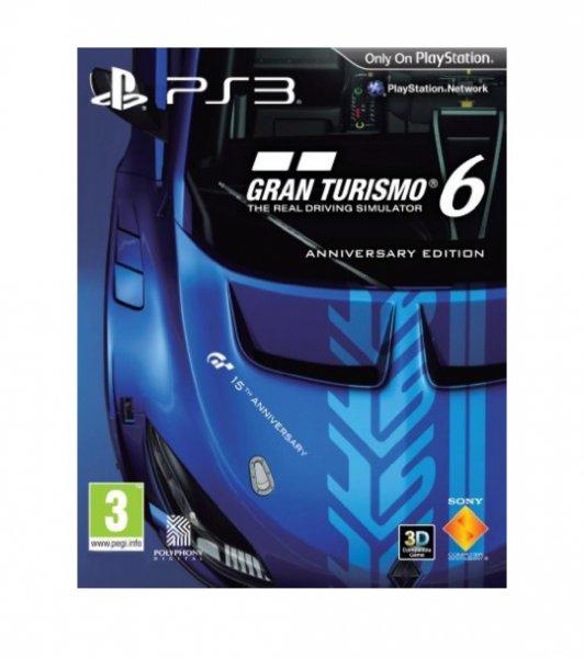 Gran Turismo 6 Anniversary Edition PS3 inkl. Versand ca. 34 euronen