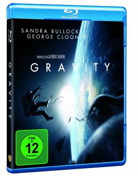 Gravity Blu-ray bei Amazon für 12.90€