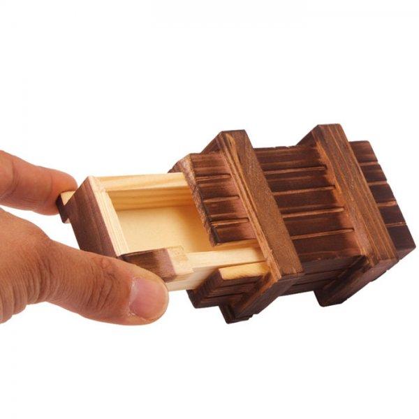 [ebay] Schatzkiste, Schatztruhe aus Holz mit geheimen Öffnungsmechanismus