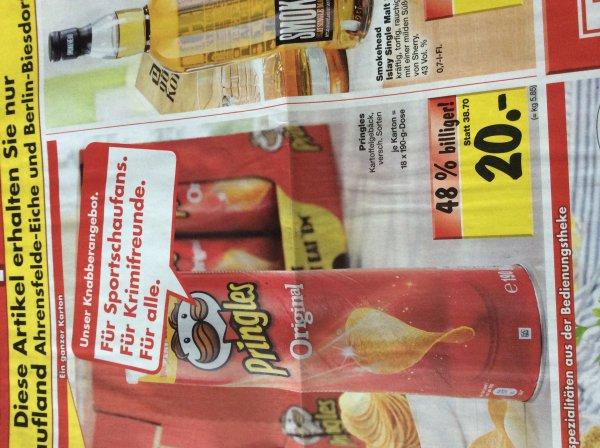 Ein Karton Pringles für 20 Euro  - Lokal Kaufland Berlin Ahrensfelde Eiche & Biesdorf