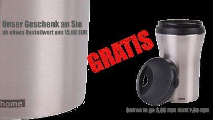 Gratis Kaffee-Thermo-Becher von home