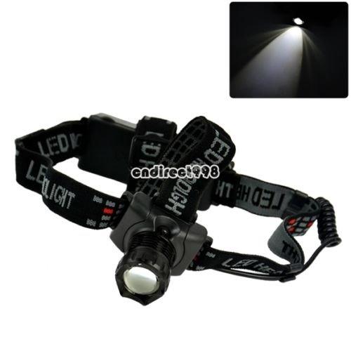 [ebay CN] CREE Q5 248Lum LED Kopflampe Scheinwerfer Taschenlampe Torch Flashlight C8