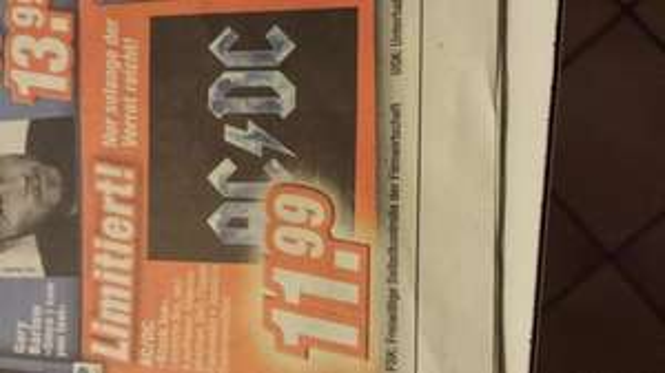 [lokal] AC/DC Black Ice Steelbox Edition