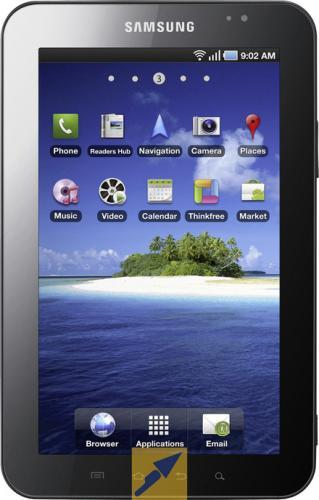 Samsung Galaxy Tab Chic White 16GB 288€ @ebay
