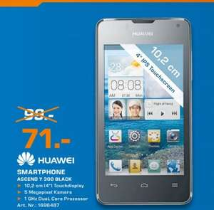 Huawei Ascend Y300 Black 71€,Moto G 8GB 145€ Lokal [Saturn Aachen]