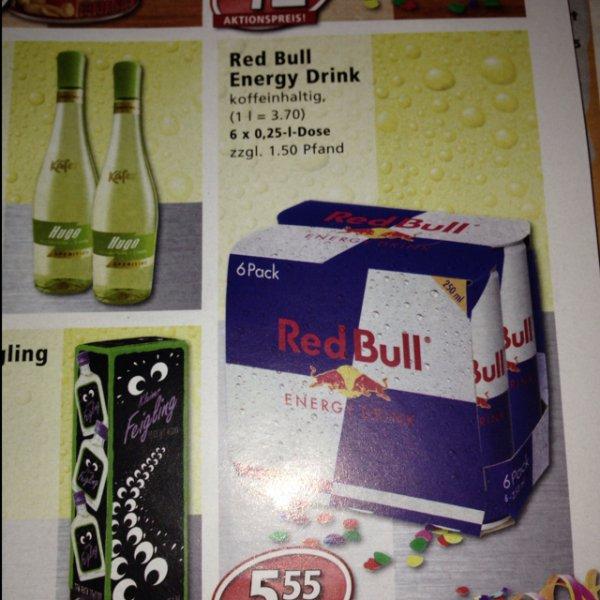 [LOKAL?] 6 pack Red Bull @Nahkauf 5,55€
