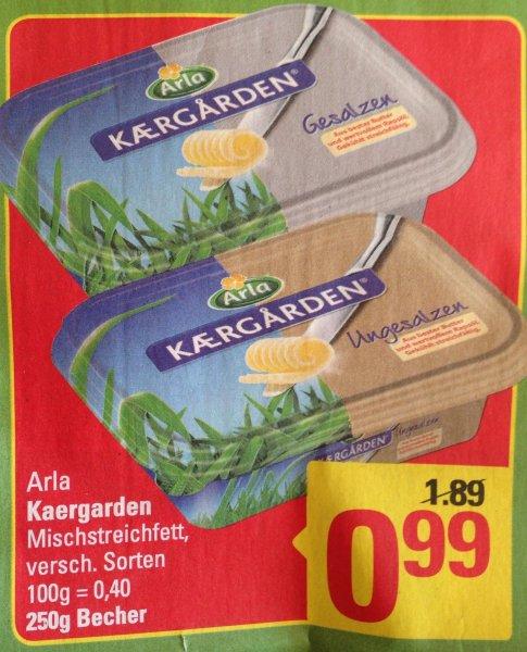 [Marktkauf Stuhr] Arla Kaergarden 250 g verschiedene Sorten für 99 Cent