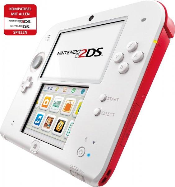 Nintendo 2DS weiß/rot