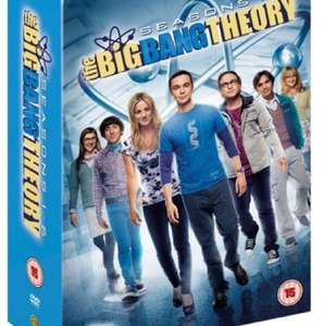 The Big Bang Theory Staffel 1-6 (DVD) für 27€ inkl. Versand